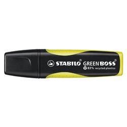 Markeerstift STABILO Green Boss 6070/24 geel