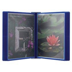 Wandelement Flex-O-Frame met 10-tassen blauw