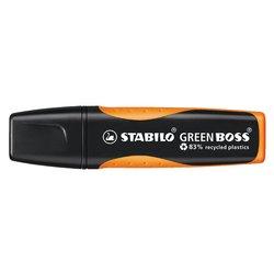 Markeerstift STABILO Green Boss 6070/54 oranje