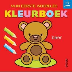 Kleurboek Deltas mijn eerste woordjes 1-3jaar