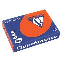 Kopieerpapier Trophee A4 80gr cardinaalrood 500vel