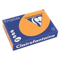 Kopieerpapier Trophee A4 80gr oranje 500vel