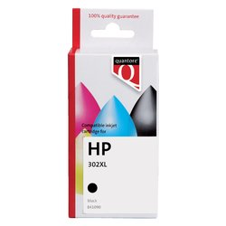 Inktcartridge Quantore HP F6U68AE 302XL zwart