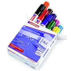 Viltstift edding 500 schuin 2-7mm doos à 10 kleuren