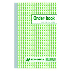 Orderboek Exacompta 210x135mm 50x2vel