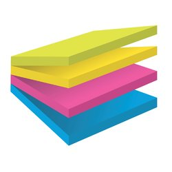Memoblok 3M Post-it 2014 Super Sticky 76x76mm smart kubus Rio