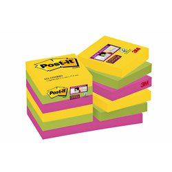 Memoblok 3M Post-it 622 Super Sticky 47.6x47.6mm Rio