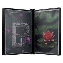 Wandelement Flex-O-Frame premium MAGNETISCH met 5-tassen zwart