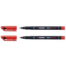 Viltstift STABILO OHpen permanent 841/40 rond 0.4mm rood