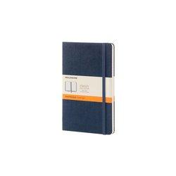 Notitieboek Moleskine large 210X130mm lijn saffierblauw