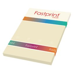 Kopieerpapier Fastprint A4 80gr roomwit 100vel
