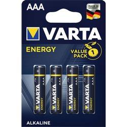 Batterij Varta energy 4xAAA