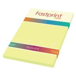 Kopieerpapier Fastprint A4 80gr kanariegeel 100vel