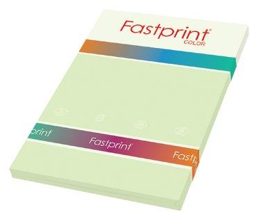Kopieerpapier Fastprint A4 80gr lichtgroen 100vel