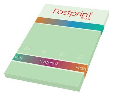 Kopieerpapier Fastprint A4 80gr appelgroen 100vel