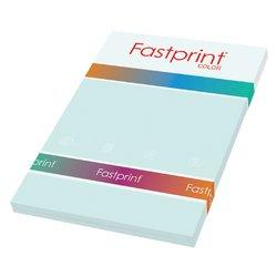 Kopieerpapier Fastprint A4 80gr lichtblauw 100vel