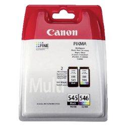 Inktcartridge Canon PG-545 + CL-546 zwart + kleur