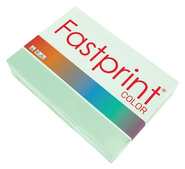Kopieerpapier Fastprint A4 80gr appelgroen 500vel
