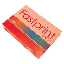 Kopieerpapier Fastprint A4 80gr felrood 500vel
