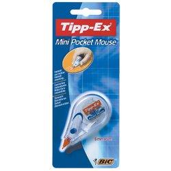 Correctieroller Tipp-ex 5mmx6m pocket mini mouse op blister