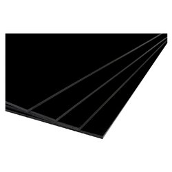 Foamboard A4 2-zijdig 5mm zwart