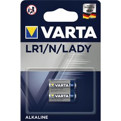 Batterij Varta LR1/N/Lady alkaline blister à 2stuk