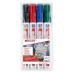 Viltstift edding 3300 schuin assorti 1-5mm blister à 4st