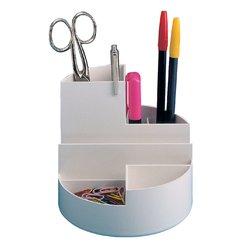 Pennenkoker MAUL roundbox 6 vakken wit