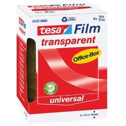 Plakband Tesa film 15mmx66m transparant