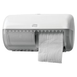 Dispenser Tork T4 557000 toiletpapierdispenser wit