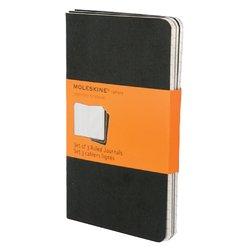 Schrift Moleskine pocket 90x140mm lijn 120blz zwart