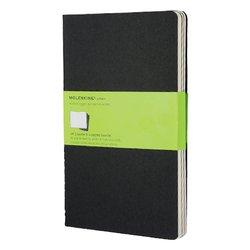Schrift Moleskine 130x210mm 160blz blanco large zwart