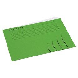 Vouwmap Secolor A4 gelijk 225gr groen