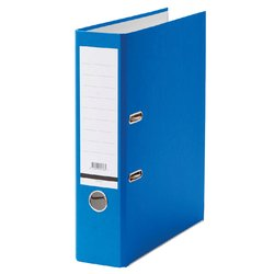 Ordner Budget A4 80mm karton blauw