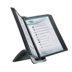 Bureaustandaard Durable 5855 Sherpa Style 10-tassen zwart
