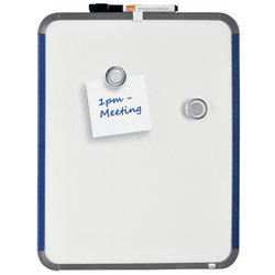 Whiteboard Nobo Slim Line 28x36cm wit