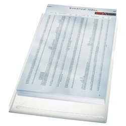 Insteekmap L-model Leitz 4056 A4 PVC 0,17mm expansievouw