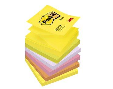 Memoblok 3M Post-it Z-Note R330 76x76mm neon rainbow