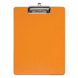 Klembord MAUL Flexx A4 staand oranje