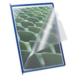 Infotas Flex-O-Frame met pen A4 blauw