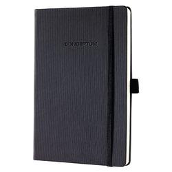 Notitieboek Conceptum CO122 A5 zwart lijn
