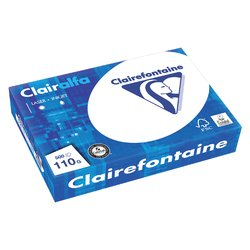 Kopieerpapier Clairefontaine Clairalfa A4 110gr wit 500vel