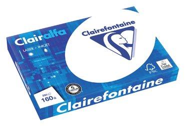 Kopieerpapier Clairefontaine Clairalfa A3 160gr wit 250vel