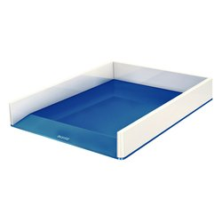 Brievenbak Leitz WOW wit/blauw