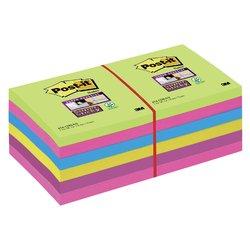 Memoblok 3M Post-it 654 Super Sticky 76x76mm rainbow
