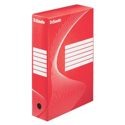 Archiefdoos Esselte Boxycolor 80mm rood