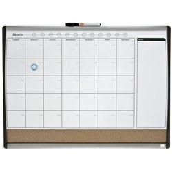 Whiteboard Duobord Rexel 58.5x43cm planning gewelfd