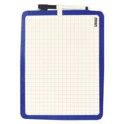 Whiteboard Desq 21X28cm tweezijdig magnetisch
