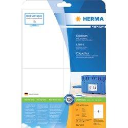 Etiket Herma 5063 105x148mm A6 premium wit 100stuks