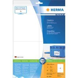 Etiket Herma 8630 105x148mm premium wit 40stuks